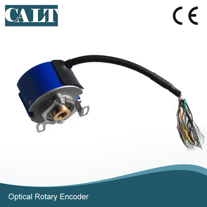 CALT 9mm tapper hollow shaft 8 poles differential Servo Motor UVW 2500 pulse Rotary Optical Encoder GSM48 similar tamagawa OIH все цены