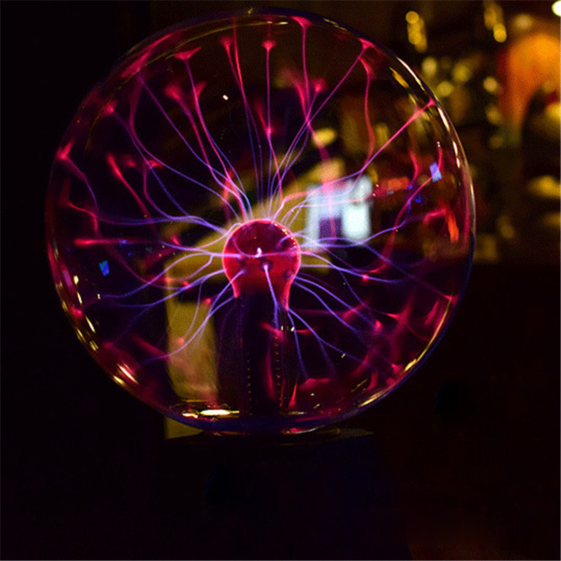 Fairy LED Plasma Ball Night Lights lamp Creative Indoor Garland Desk Table light Gift for Kids Wedding Party Luminaria Decor remote control led light creative monje smart air purifier wireless night lights sensor lamps gift table desk lamp