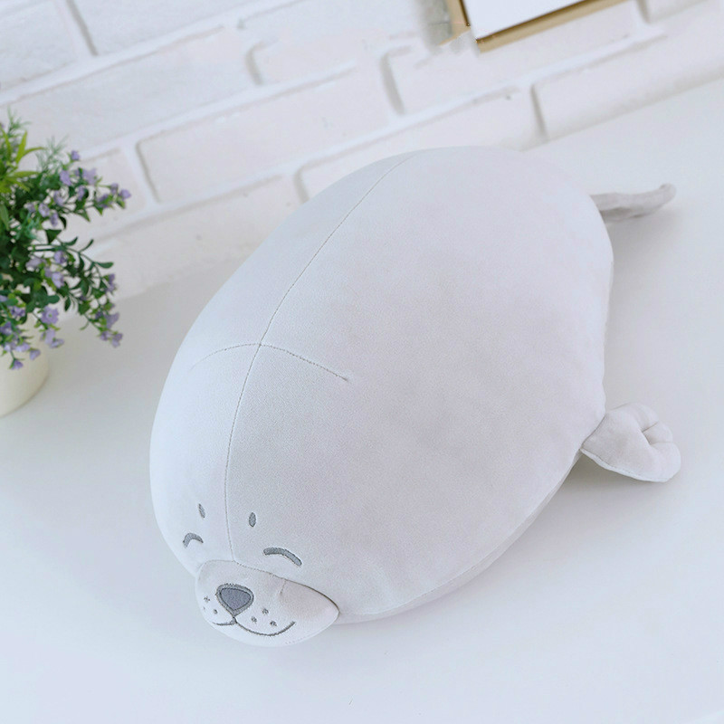 Sea World Animal Sea Lion Doll Seal Plysch Toy Baby Sova Pillow Kids Fyllda Leksaker Gift for Girl 1pc 13-18.1in