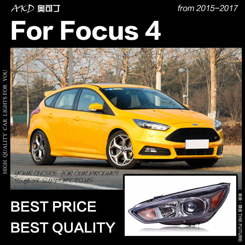 Akd Car Styling For Ford Focus Headlight 2017 St Sytle Headlights D2h Hid