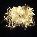 Chrismas led hadas luz de la secuencia 10 M 100 LED Impermeable 110 V/220 V Lámpara de Árbol de Navidad de Navidad de Vacaciones al aire libre decoraciones para el hogar