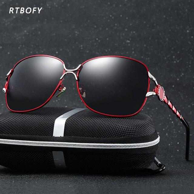 2017 Luxury brand Women Sunglasses New elegant glasses mujer Sunglasses for Female oculos de sol -6103