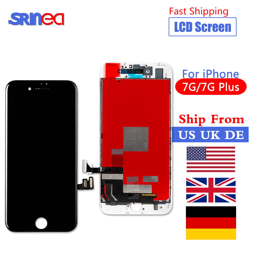 Display Lcd-Screen-Replacement 7plus iPhone 7 3d-Touch-Ship for High-Quality with Uk-De-Cn