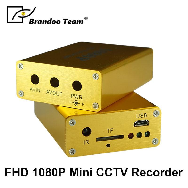 New 1080P Mini AHD TVI Video Recorder DVR 1080P Real time CCTV DVR
