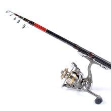 1.8M Telescopic Fishing Rod Outdoor Spinning Lure Rod Raft Pole