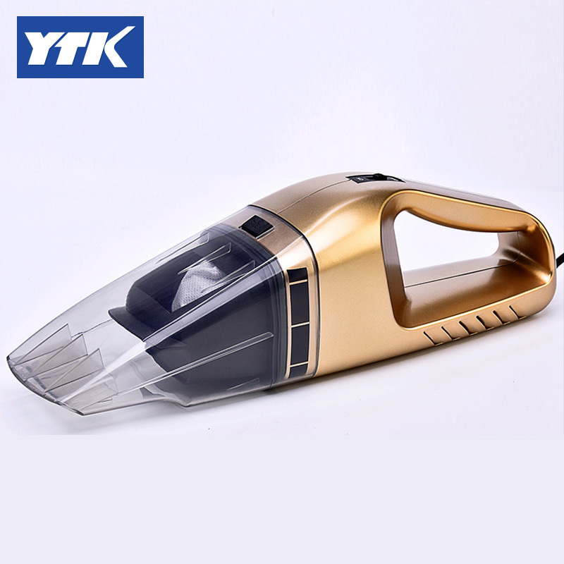 YTK A008 Car Vacuum 12V 106W Wet&Dry Dual Use Car Vacuum Cleaner Portable Car Handheld Vacuum Cleaner 14.7FT(5M) Power Cord