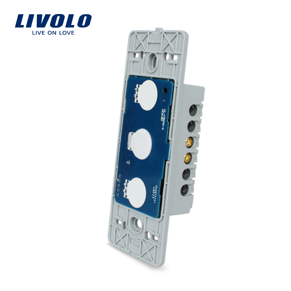 Free Shipping, Livolo Manufacturer,  The Base of  Touch Screen Wall Light Switch,  VL-C501 manufacturer livolo ac 110 250v the base of wall light touch screen remote switch 3gang 2way vl c503sr