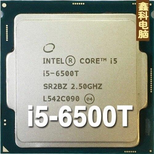 Оригинальный НОВЫЙ Core I5 6500 Т I5-6500T процессор 2.5 Г 35 Вт 14nm Четырехъядерных Процессоров настольных scrattered штук