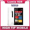 Nokia, lumia 928 desbloqueado 8.7MP NFC GPS 32 GB Dual Core 1.5 GHz 4.5 pulgadas sistema operativo Windows 3 G reformado