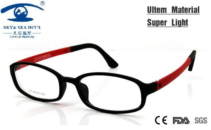 2015 New Fashion Ultem Flexible Glasses Frames for Kids Boy Girl in ...