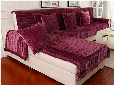 Hot Sale Sofa Covers Slip Resistant Sofa Towel Sofa Slipcover Solid Covers For Sofa In Sofa