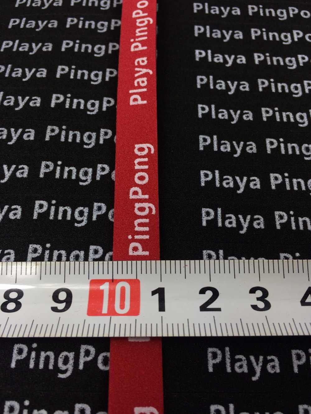 3 ชิ้น/ล็อต 10mm-Wide Professional ไม้เทนนิสตารางขอบป้องกันเทปฟองน้ำ Anti-collision เทปเทนนิส