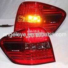 Для Mercedes-Benz W164 ML350 ML500 светодиодный задний светильник Красный Черный Цвет 2006-2011