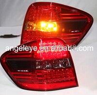 Для Mercedes Benz W164 ML350 ML500 светодиодный фонарь красные, черные Цвет 2006 2011