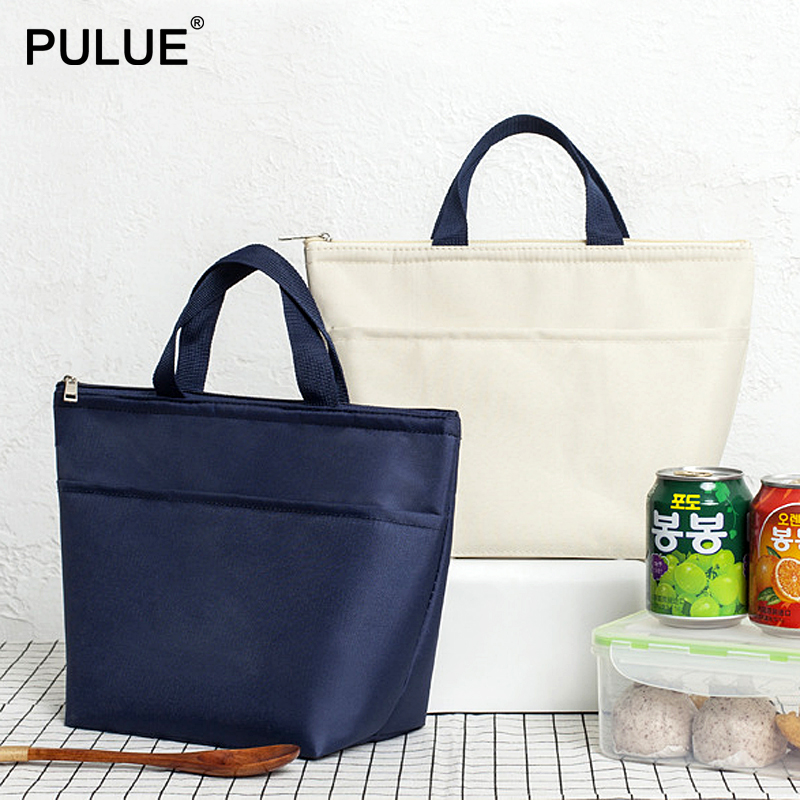 Large Capacity Portable Lunch Bags Food Fresh Preservation Waterproof Ice Bags Big Thermal Insulation Lunch Box Bag Picnic Totes