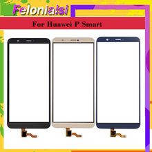 10Pcs/lot For Huawei P Smart FIG-LX1 LX2 FIG-L21 FIG-L22 Enjoy 7S Touch Screen Touch Panel Sensor Digitizer Front Glass Touch new 10 1inch 4 wire resistive touch panel glass for n101icg l21 228x149mm led screen touch panel glass free shipping