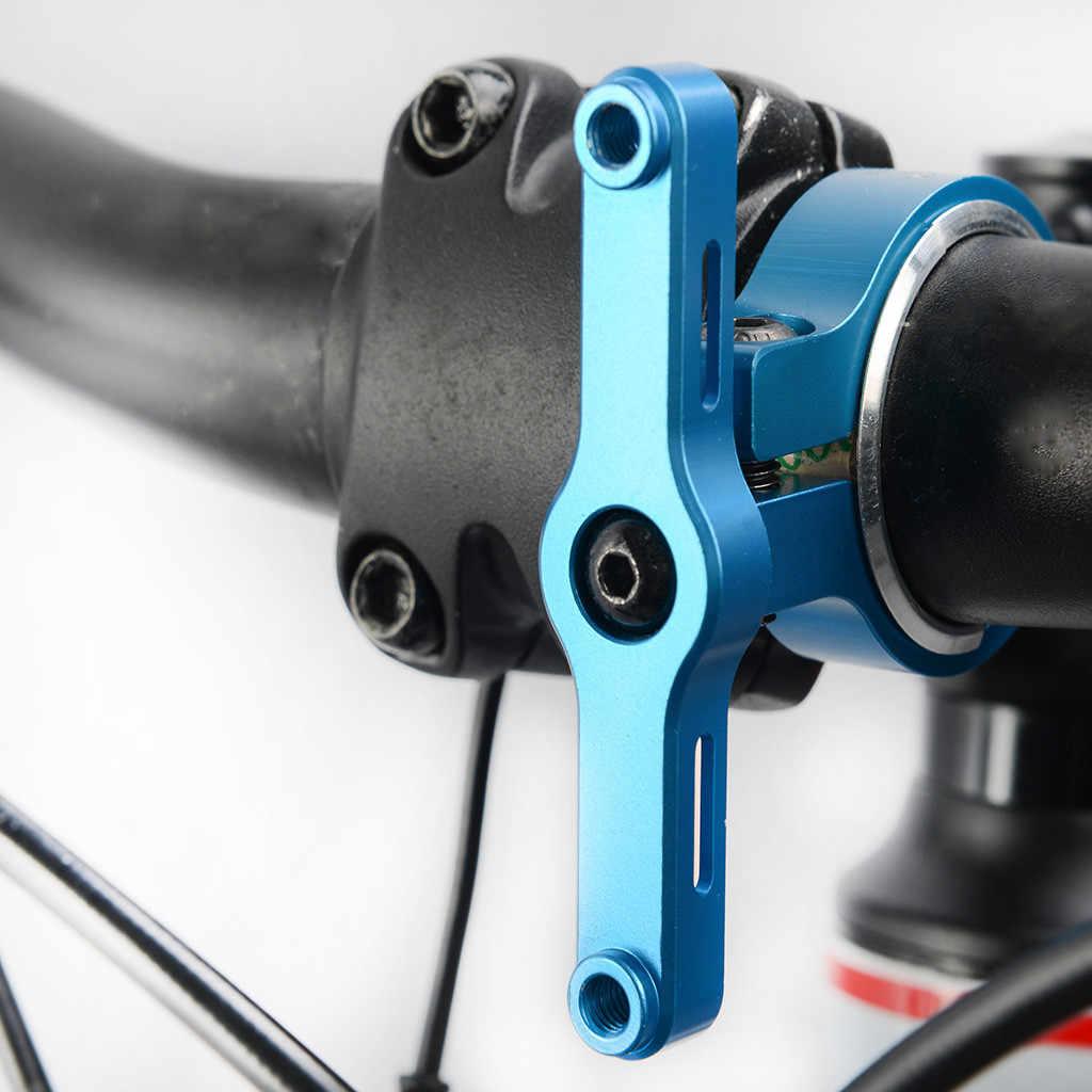 Bike Water Bottle Cage Adapter Bicycle Handlebar Kettle Extension Holder Mount