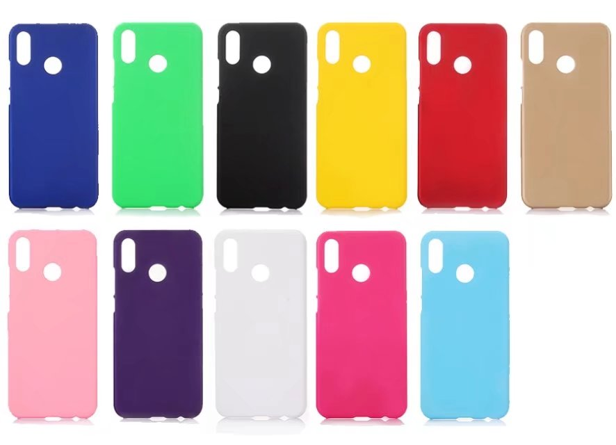 100pcs lot free shipping Rubber Matte Hard Back Cover Skin Case For Asus Zenfone 5 Lite