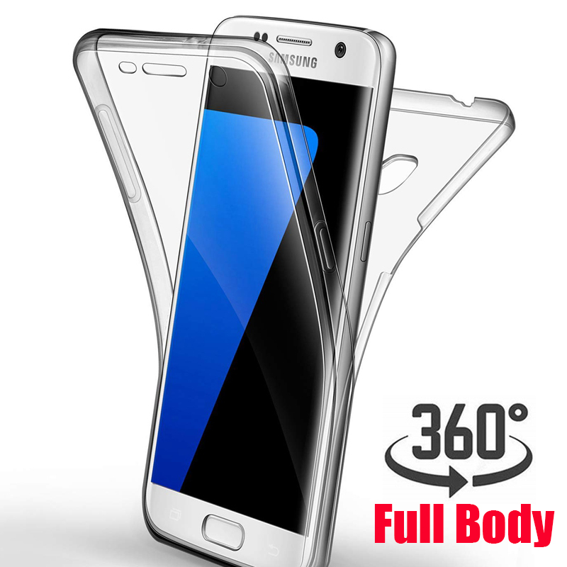 360 Degree Soft Case For Samsung Galaxy A7 A6 A8 Plus 2018 J2 Pro J6 J8 J4 A3 A5 A7 2017 J3 J5 J7 Neo Prime 2 Tpu Clear Cover Punctual Timing