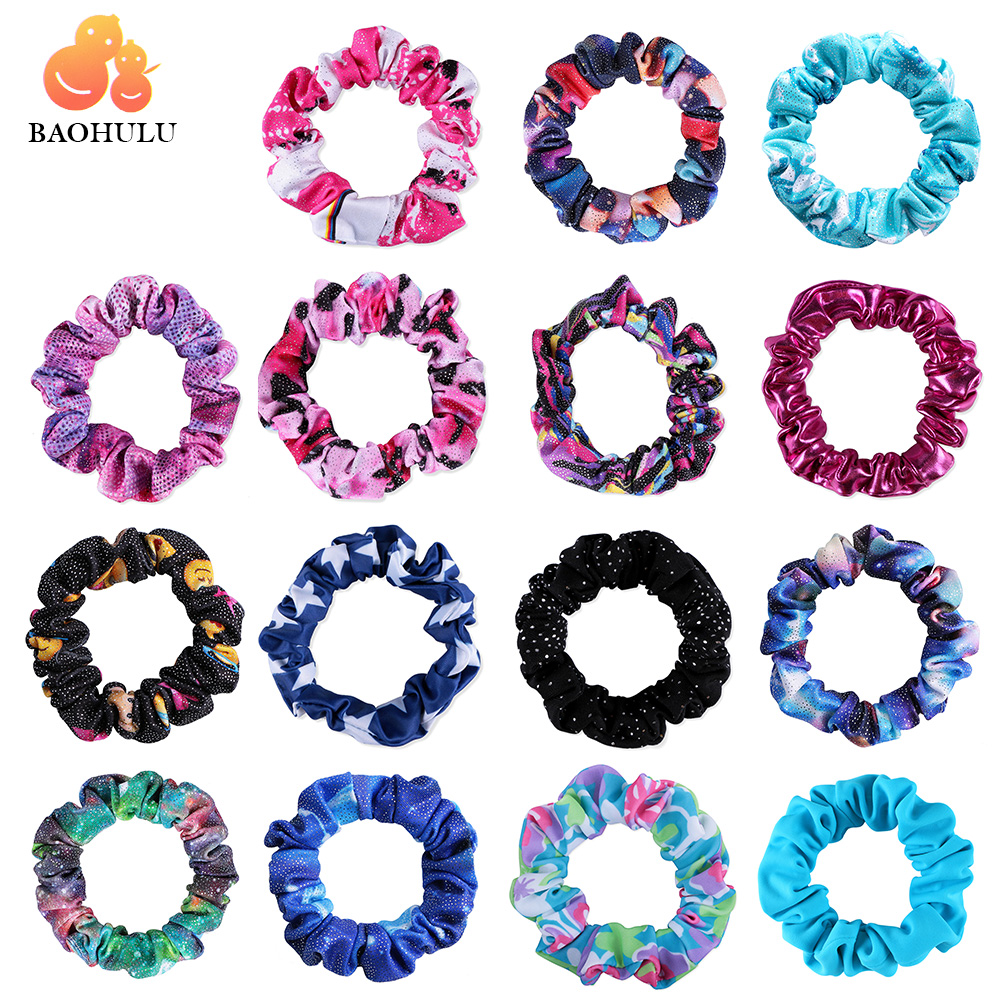 20 Color BAOHULU Girl Kid Seamless Ultra Elastic Hair Ties Bands Rope Ponytail Headband Scrunchie Rubber Band Hair Accessories lnrrabc women imitation pearls butterfly hair rope charm crystal rubber headband ponytail gum elastic hair bands headband gift