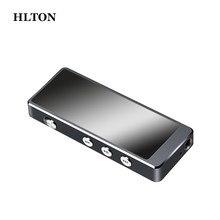 Hlton mini portátil gravador de voz digital lossless alta fidelidade hd gravação de áudio caneta 8 gb ultra claro ditafone mp3 player grabadora