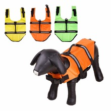 Pet Dog Life Vest Jacket Clothes Swimwear Safety with Reflective Stripe Breathable Comfortable Swim Suit Floating Summer Surfing