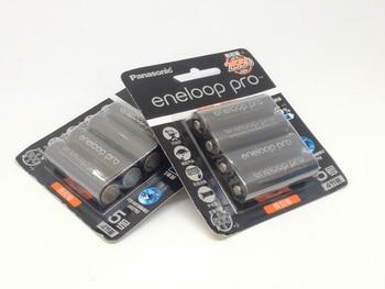 20PCS/LOT New Original Panasonic Pro AA 2550mAh High Capacity NI-MH Pre-charged Rechargeable Battery Made in Japan,4pcs/pack