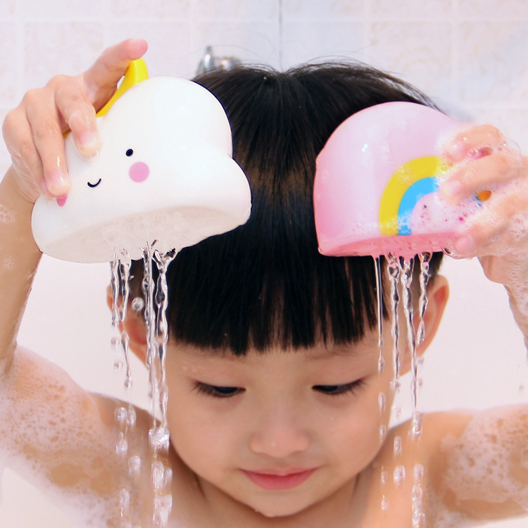 1pcs Free Shipping Cute Soft Baby Bath Toys Funny Bathroom Play Water Spraying Tool For Babies Preschool Toys Children Gifts #CS 12pcs lot cute mixed random animals soft rubber float squeeze sound squeaky bathing toys baby water spraying tool bath toy