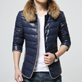 The new winter The sheep skin leather jacket Fox collars feather coat of cultivate one's morality