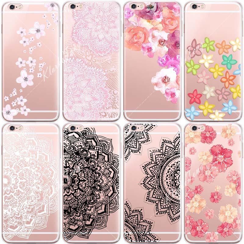 Aliexpress.com : Buy Watercolor Vintage Flower Phone Cases For iphone ...