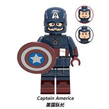 Endgame Iron Man Chitauri Loki Black Widow Thor Hawkeye Captain America Avengers 4 Building Blocks figure Toy for Children X0259