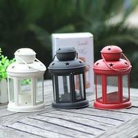 Modern Vintage Metal Moroccan Lantern Candle Holder Hanging Home Garden Lamp Tealight HOT Gift Festival Decoration