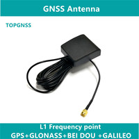 GNSS RTK antenna high quality GPS GLONASS BEI DOU three system GPS antenna 38DB high gain, high precision positioning