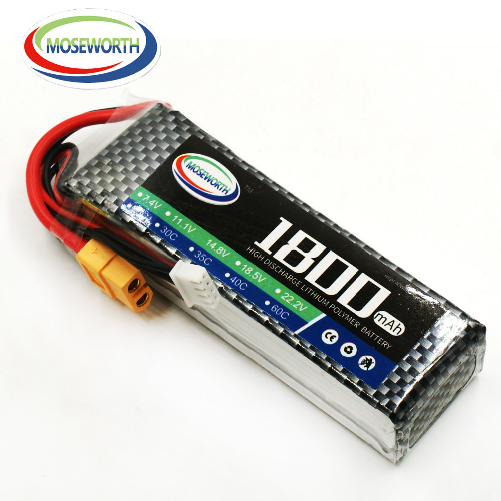 Battery Lipo 3S 11.1V 1800mAh 25C For RC Quadcopter Helicopter Car Drone Airplane Boat Truck Remote Control Toys Lipo Battery vho 6s 22 2v 8000mah 25c lipo battery traxxas for rc helicopter airplane car boat quadcopter airplane drone spare parts