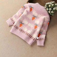 Детские свитера для мальчиков и девочек; Детские свитера с героями мультфильмов; мягкие теплые зимние свитера с длинными рукавами для маленьких девочек; одежда