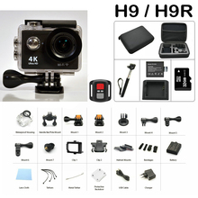 Original Smarcent H9 H9R 4K Action Sport Camera 30fps 30M H.264 Resolution Waterproof Support WiFi Action Sport Video Camera