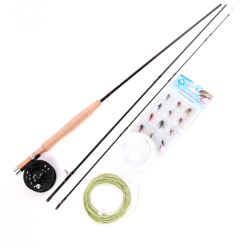 Maximumcatch Fly Fishing Rod Combo 6FT 2WT 3PCS Super Light Carbon Fly Rod Combo