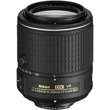Nikon 55-200 Lens AF-S DX 55-200mm f/4-5.6G ED VR II lenses for Nikon D3400 D3300 D5500 D5300 D90 D7200 D300 D500 DSLR Cameras