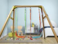 YONTREE 1 PC Leaf Hanging Swing Children Indoor Outdoor Adjustable Hanging Seat H9224