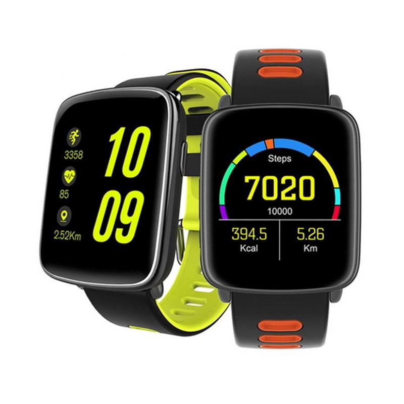 Top Smartwatch Bluetooth 4.0 Android IOS Compatible IOS Android Heart Rate Monitor Remote Camera Pedometer Watch Smart Watch пульт управления камерой hisy bluetooth camera remote для ios белый