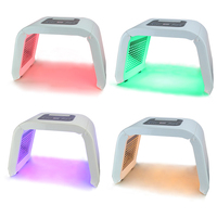 4 Color PDT LED Light Therapy Machine Face Beauty Photon Acne Wrinkle Remove Skin Rejuvenation Face Care Beauty Tool