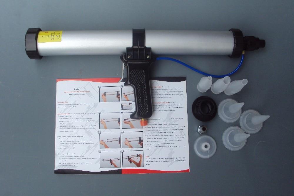 600 ml sigillante per salsicce pistola per silicone pneumatica - Strumenti di costruzione - Fotografia 5