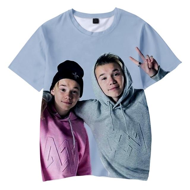 d7982c33682 Frdun Tommy 3D Kids T-shirt Marcus and martinus Soft Round Collar T-shirt