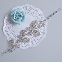 Corea mariposas revoloteando Frontlet headpiece bijoux de diademas joyería barata envío gratis