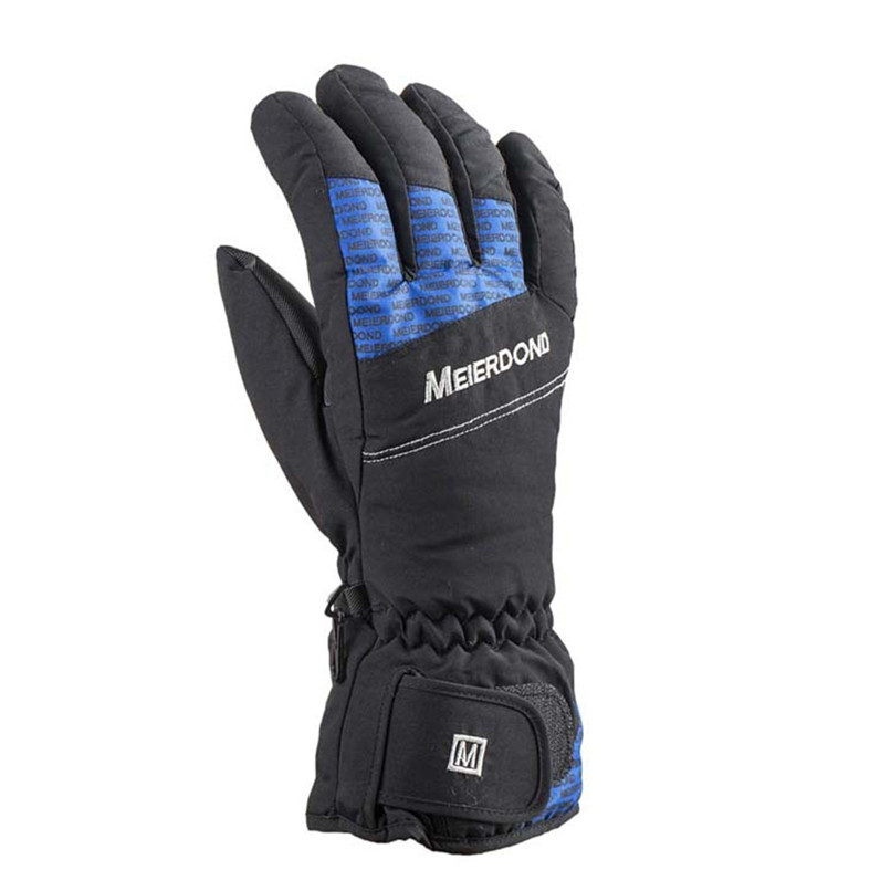 Warm Ski Snowboard Skiing Gloves Motorcycle Riding Winter Gloves Windproof Waterproof Snow Glove Men Women cycling gloves #2s18 (1)