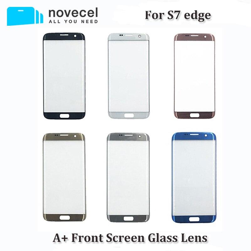 A + Qualität G935 G928 Front Glas Objektiv Für S7 Rand LCD Display Vorne Touch Outer Touch Panel Screen Glas ersatz