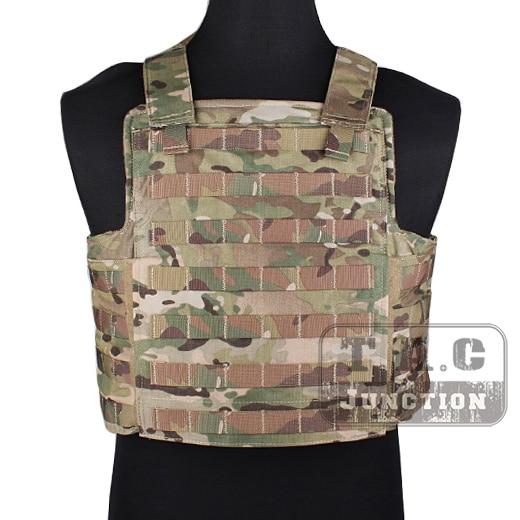 Emerson Tactical PROTECH Navy Seal DEVGRU Dedicated Panel CAGE Plate Carrier Multicam Modular Vest Adjustable MOLLE Vest