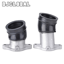 Motorcycle Carburetor Manifold Interface Carburetter Intake Pipe Adapters Connector For Honda CX500 CX500C Custom CX500D Deluxe цена и фото
