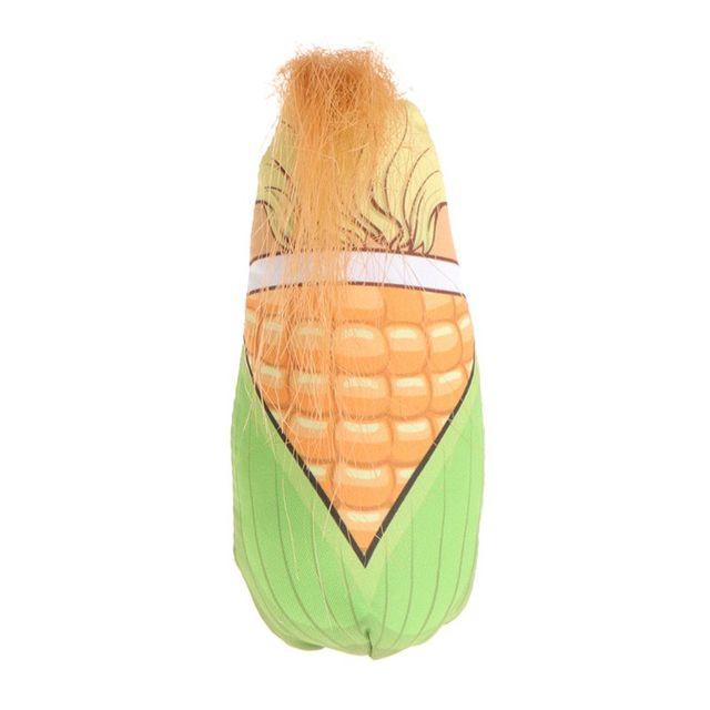 Trump Corn Head Maize Design Funny Interactive Teaser Catnip Squeaky Stuffed Plush Cat Pet Kitten Toy