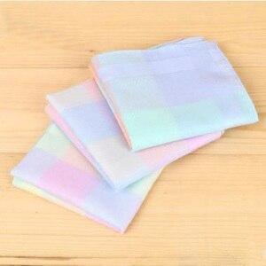 Image 4 - Хлопковый носовой платок для мужчин и женщин, 12 шт.